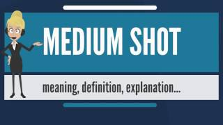 What is MEDIUM SHOT? What does MEDIUM SHOT mean? MEDIUM SHOT meaning, definition & explanation