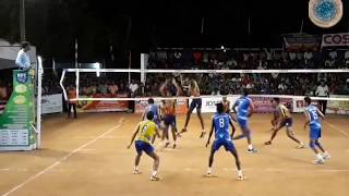 Volleyball trick shots |combination plays| Local volleyball |