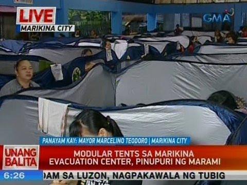 Xxx Mp4 UB Modular Tents Sa Marikina Evacuation Center Pinupuri Ng Marami 3gp Sex
