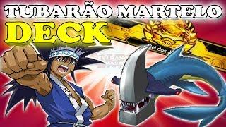 DECK MAKO TUBARÃO MARTELO NO REI DO JOGOS - YU GI OH! DUEL LINKS