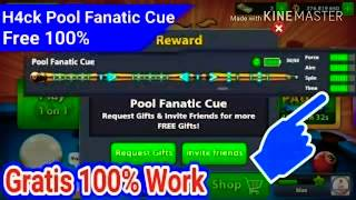 Free Pool fanatic cue link download now