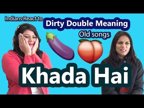 Xxx Mp4 Indians React To Dirty Double Meaning Old Bollywood Songs Say Whaaat 3gp Sex