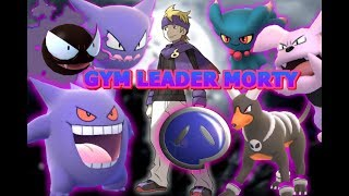 Pokemon GO Gym Leader Morty Gengar, Gastly, Haunter, Misdreavus & more