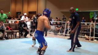 Javier Gomez Another Win at Golden Gate Internationals Kickboxing Division 2010.MP4
