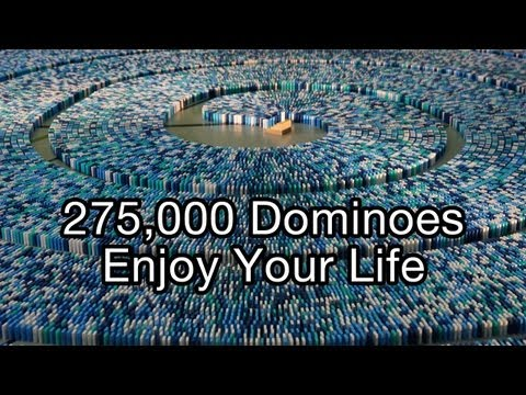 Xxx Mp4 275 000 Dominoes Enjoy Your Life Guinness World Record Most Dominoes Toppled In A Spiral 3gp Sex