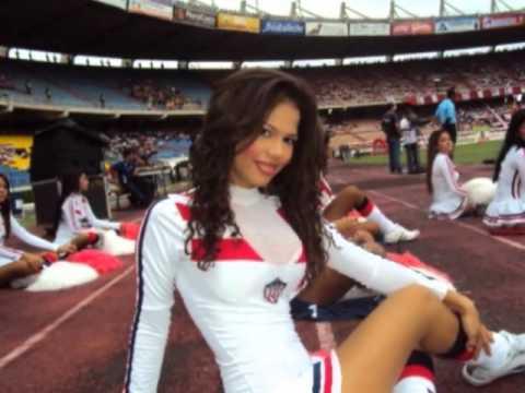 Las Porristas Lindas De Colombia