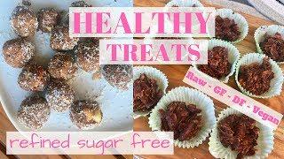 HEALTHY TREATS II Refined sugar free, DF, GF & vegan! + what keeps me motivated..?