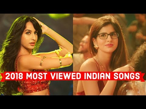 2018's Top 20 Most Viewed Indian/Bollywood Songs on YouTube