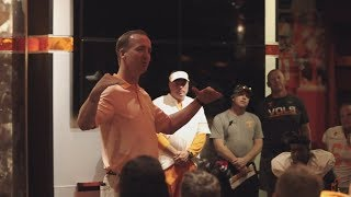 Peyton Manning Gives Tennessee Football A Rousing Pep Talk | ESPN