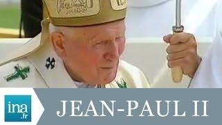 Jean-Paul II clôture les JMJ de 1997 - Archive INA
