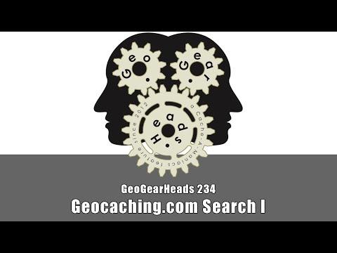 GeoGearHeads 234: Geocaching.com Search I