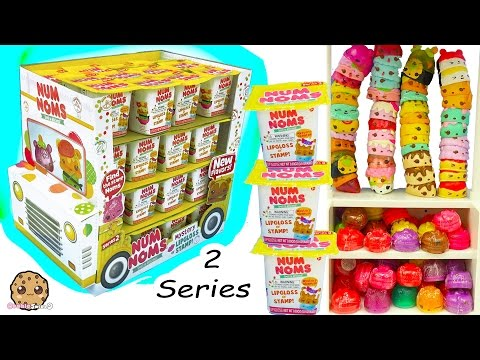 Series 2 Full Ice Cream Truck Box of 48 Num Noms Surprise Blind Bag Cups + Stack Challenge