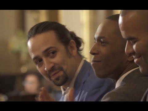 Original 'Hamilton' Cast Performs At White House For Obamas