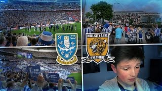 MY FIRST TIME AT WEMBLEY!!! - SWFC VS HULL 2016 PLAY OFF FINAL VLOG!