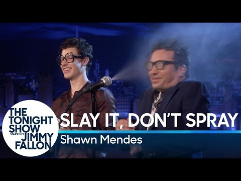Slay It, Don't Spray It with Shawn Mendes
