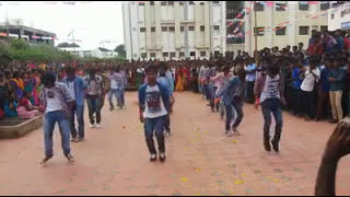 students dance performance for a song of osey ramulamma