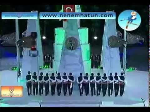 Erzurum koçeri. 2011 Erzurum kış olimpiyatları gösterileri.