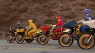 Power Ranger Fuerza Salvage | Los Rangers consiguen los nuevos Savage Cycles