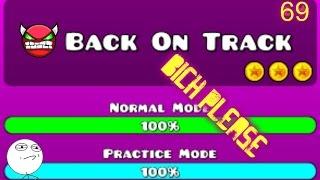 (Extreme insane impossibol demon)- Back on track ( ͡° ͜ʖ ͡°)