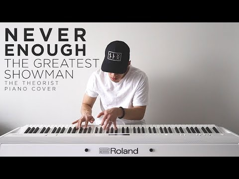 The Greatest Showman (Loren Allred) - Never Enough | The Theorist Piano Cover mp3
