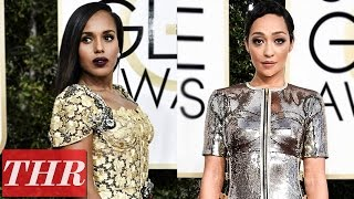 Golden Globes 2017: Best Dressed with Donald Glover, Ruth Negga, Kerry Washington & More!