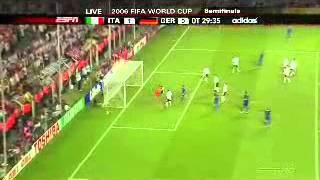 Italy vs Germany FIFA World Cup 2006