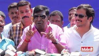 Vadivelu Answer for Sarathkumar Team Poster - Nadigar Sangam Election