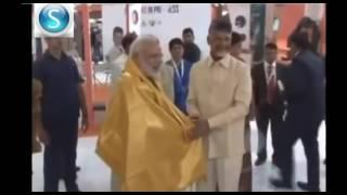 CBN felicitating Modi.. YSRCP spreading False news on this..