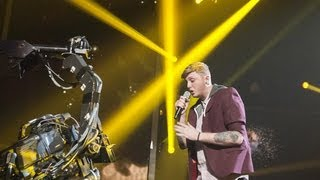 James Arthur sings Kelly Clarkson's Stronger - Live Week 1 - The X Factor UK 2012
