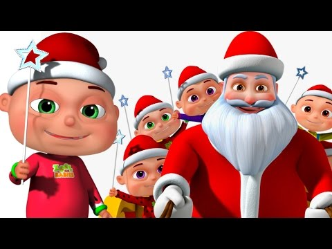 Five Little Babies Christmas Song Jingle Bells Nursery Rhymes For Children