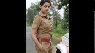 Bhavana Hot Photoshoot in Police Uniform for Polytechnic(2014)