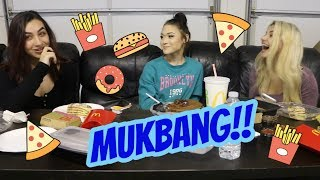 HOW WE MET OUR BOYFRIENDS | MUKBANG W/ Kat And Gabby
