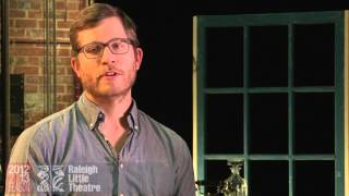 The 39 Steps Cast Interview : Jesse as Richard Hannay
