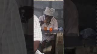Old man eating biscuits with whisky | Very Funny