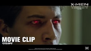 X-Men: Apocalypse ['Cyclops' Movie Clip in HD (1080p)]