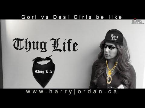 Harry Jordan .... Gori vs Desi Girls be like