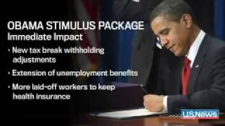 President Obama Signs Economic Stimulus Bill The Presidency, Ep 5