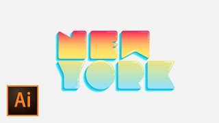 Create Bubble Text with Simple Illustration Techniques