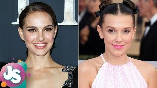 Natalie Portman Reacts to Millie Bobby Brown Being Named Her Doppelganger - JS
