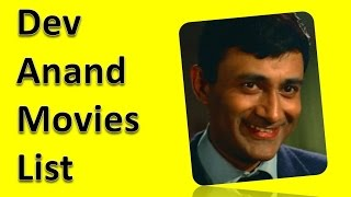 Dev Anand Movies List