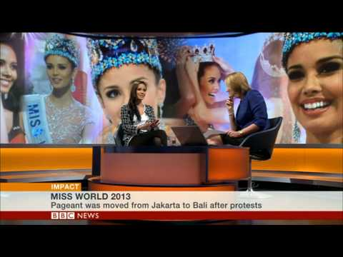 BBC World TV Miss World talks about controversies and flying the flag for the Philippines