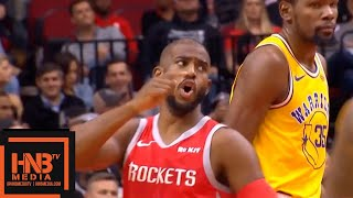Golden State Warriors vs Houston Rockets 1st Qtr Highlights | 11.15.2018, NBA Season
