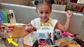 McDonalds Happy Meal Toy Surprise with Hide And Seek! Imani