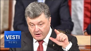 Poroshenko Comes Off Slurred and Drunk: Does Commander-in-Chief Have Trouble Handling His Liquor?