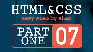 #7 تعلم HTML و CSS خطوة بخطوة  - التحكم بالصور في موقع الانترنت