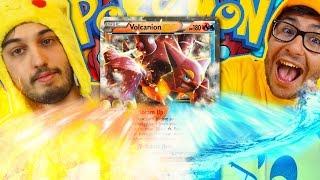 MI GIOCO VOLCANION EX CON UNA FULL ART - Pokemon XY Vapori Accesi Pack Opening w/ Marcy