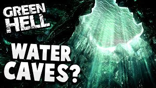 WE FOUND A MASSIVE CAVE SYSTEM UNDERWATER! - Exploring the New Map! - Green Hell Gameplay