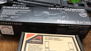 Primary Arms 1-8 FFP PLATINUM is Here!!! ~ Rex Reviews LIVE