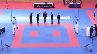 Word karate federation (WKF) FINAL -55kg Indonesia VS Italy