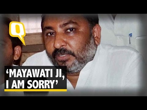 Xxx Mp4 The Quint I Apologise To Mayawati For My 'Prostitute' Remark Daya Shankar 3gp Sex